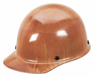 Msa Front Brim Hard Cap, 4 pt. Pinlock Suspension, Natural Tan, Hat Size: 7 to