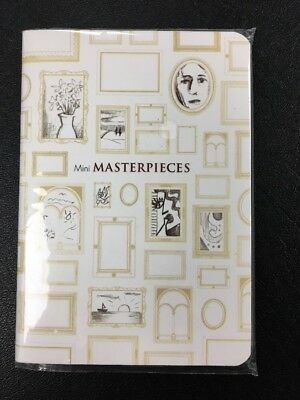 Mini Masterpieces 64 Pages Pocket Notebook