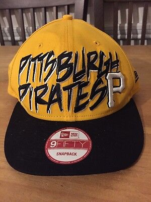 5dd877b72db Pittsburgh Pirates NEW ERA 59 Fifty Slash Print MLB SNAPBACK BASEBALL HAT