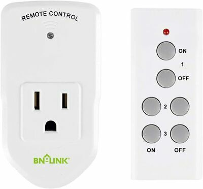 Century Wireless Remote Control Electrical Outlet Switch for Appliance 1 Pack