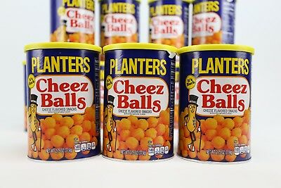 Planters Cheez Balls Cheese Snack New Release x3 three pack 2.75  Ready to ship!