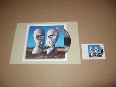 7 Jan 2010 Classic Album Cover Pink Floyd Division Bell 1St Class Stamp