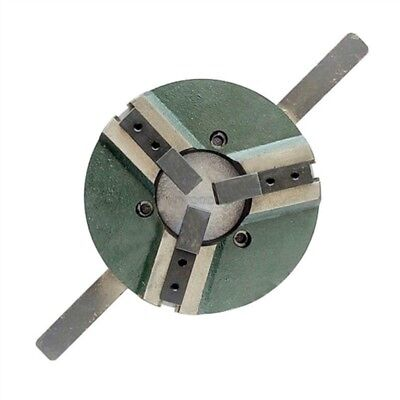 8 Inch 3 Jaw Self-Centering Welding Table Chuck 200Mm Reversible New es