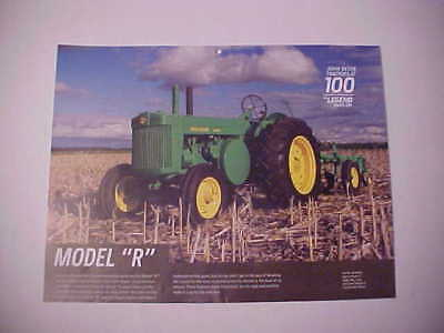 "1949,1950,1951,1952,1953,1954,1955 John Deere ""Model R"" photo from NOS calendar"