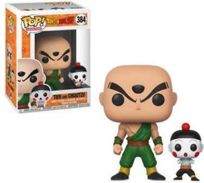 Funko-Dragon Ball Z Tien And Chiaotzu #384 (Importación USA) ACC NUEVO
