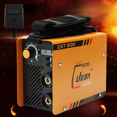 ZX7-200 Portable MMA ARC Welder DC IGBT Welding Machine Soldering Inverter TOP
