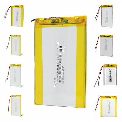 3.7V 2000~3800mAh Rechargeable Battery Cell For MP3 MP4 DVD PDA PSP Recorder