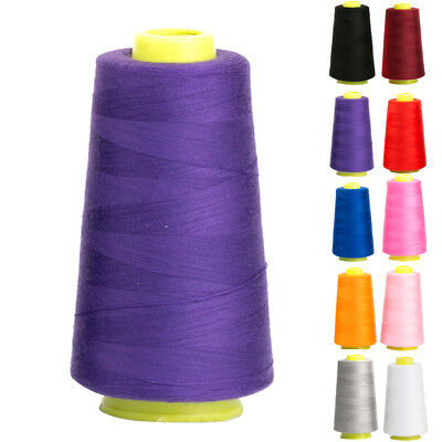 Spool 3000 Yards Quilting Sewing All Purpose 100% Pure Cotton Thread Home DIY