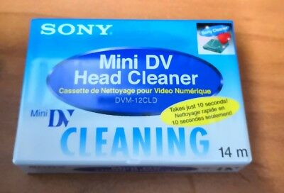 Sony DVC-12CLD Cleaning Tape
