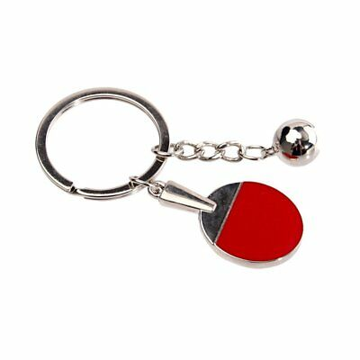 Table Tennis Racket Keychain Personalized Creative Gift Keychain AZ