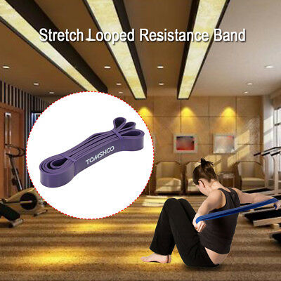 TOMSHOO 208cm Workout Schleifenband Assist Pull Up Band Stretch Resistance O0G5