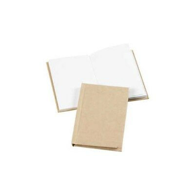 Sketchbook, A7 7,5x10,5 cm, thickness 8 mm, brown, 1pc [HOB-26369]