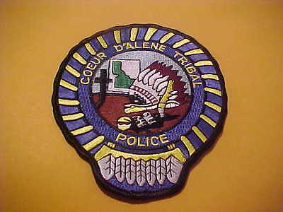 Coeur D Alene Idaho Police Patch Shoulder Size New  D  Type 2
