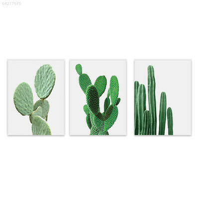 3C7E 6E37 Cactus Canvas Painting Home Decor Hotel Creative Oil Painting