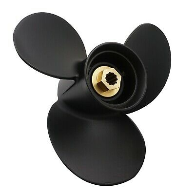 10 3/8X12 P Aluminum Outboard Propeller For Mercury 9.9-25HP 48-19639A40