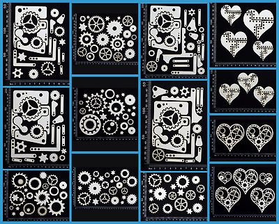 White Chipboard - Steampunk - Collection Two