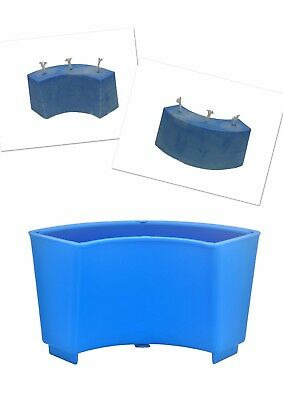 1 x Arc Semi Curved Wave Shaped Candle Making Mould Mold, UK Made. S7675