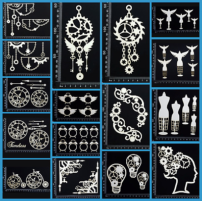 White Chipboard - Steampunk - Collection Five