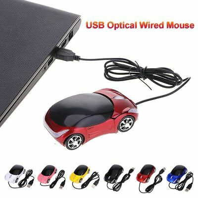 Wired Mouse Gaming Mice Computer Peripherals 3D Car Shape For Laptop PC Macbook