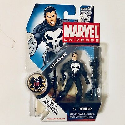 "2008 Marvel Universe 3.75"" #020 Punisher Action Figure By Hasbro"