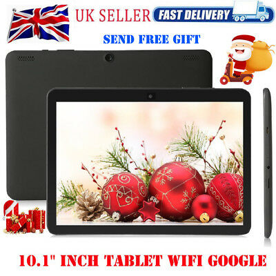 "10.1"" INCH Tablet PC Android 6.0 32GB Quad-core WIFI Dual Camera Google GPS UK"