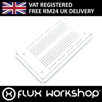 270 Point White Solderless Breadboard Prototyping SYB-46 Linkable Flux Workshop