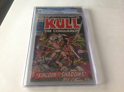 Kull The Conqueror 2 Cgc 9.0 White Pages Marvel Conan Marvel Comics
