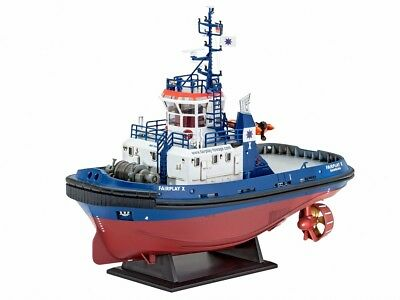 (RV05213) - Revell 1:144 - Harbour Tug Boat 'Fairplay I, III'