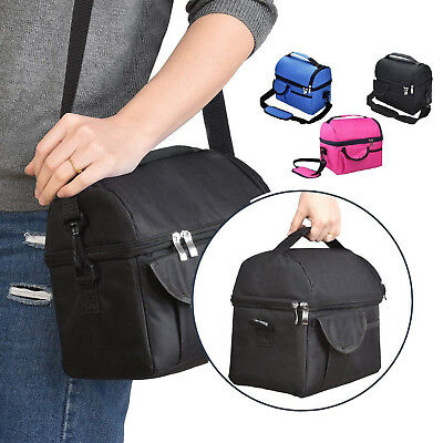Insulated Lunch Bag 8L Coolbag Work Picnic Adult Kids Food Storage Lunchbox