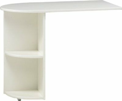 Steens Furniture, Estensione per scrivania, Bianco (weiss) (8B1)