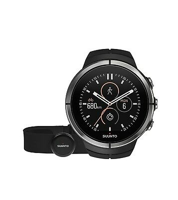 (Black, Without Sapphire Crystal) - Suunto, Spartan ULTRA Black, GPS Watch for