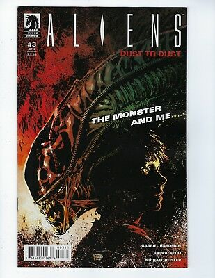 ALIENS: DUST TO DUST # 3 (of 4) OCT 2018, NM NEW