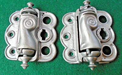 Vintage Screen Door Hinge Set - Circa 1890 Wonderful Condition  (10666)