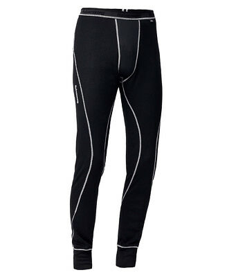 Halvarssons Light Long Motorcycle Base Layer Trousers - Black