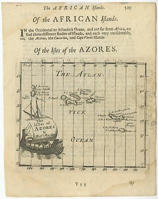 The Isles of Azores - Morden (1693)
