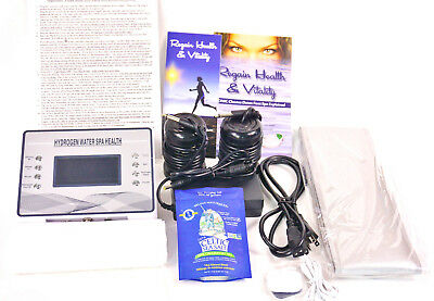 Ionic Cleanse Detox Foot Spa Machine, Hydrogen Enhanced, with  carrying case,