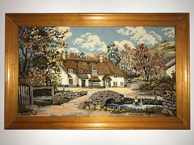 Large tapestry needle craft The Royal Oak Winsford Exmoor