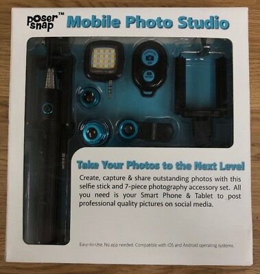New Poser Snap Mobile Photo Set Brand New 645 Picclick