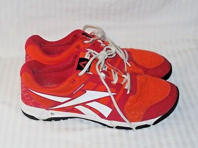 437d0b3884b4 Reebok 3D Fuse Frame Men s Running Shoes Size 12 Red White