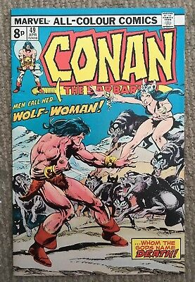 Vintage Conan The Barbarian Comic April 1975 Vol 1 No 49 Good Condition /Marvel
