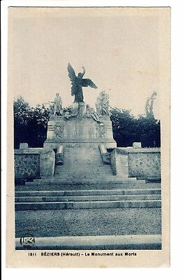CPA-Carte postale--France -Beziers - Monument aux Morts S3107