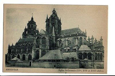CPA-Carte postale--France -Argentan - Eglise Saint Germain-1946 - S3110