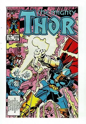Thor #339, NM- 9.2, 1st Appearance Stormbreaker