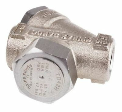 Spirax Sarco 42 bar Stainless Steel Thermodynamic Steam Trap, TD42L, 1/2 in NPT