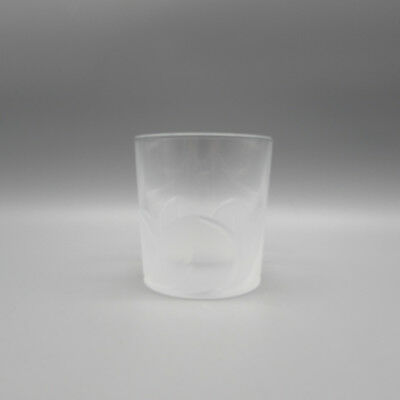 SET OF FOUR - Cristal D'Arques FLORENCE Whiskey Glasses