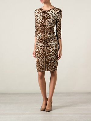 d1a68229a10 NWT! DOLCE AND Gabbana Leopard print dress [SZ 48] #e186 - $1,449.99 ...
