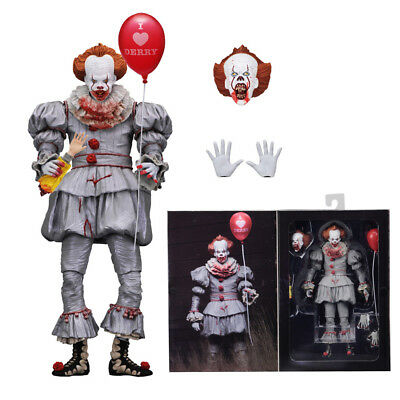 """NECA IT Bloody Pennywise Clown Exclusive Ultimate 7"""" Action Figure New with Box"""