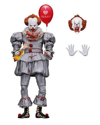 """NECA IT Bloody Pennywise Clown Exclusive Ultimate 7"""" Action Figure Collectible"""