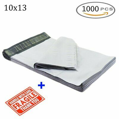 1000Pcs Poly Mailers 10x13 Plastic Shipping Envelopes Mailing Bags Self Sealing