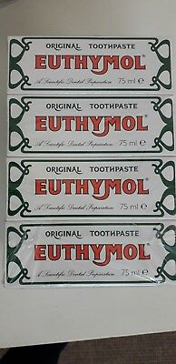 Euthymol Original Toothpaste 75ml Multriple List Special whitner wash UK Seller
